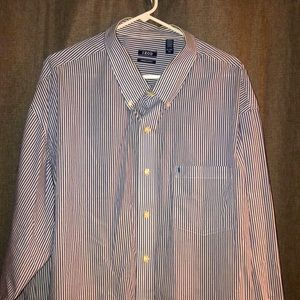 3XL Izod long sleeve dress shirt